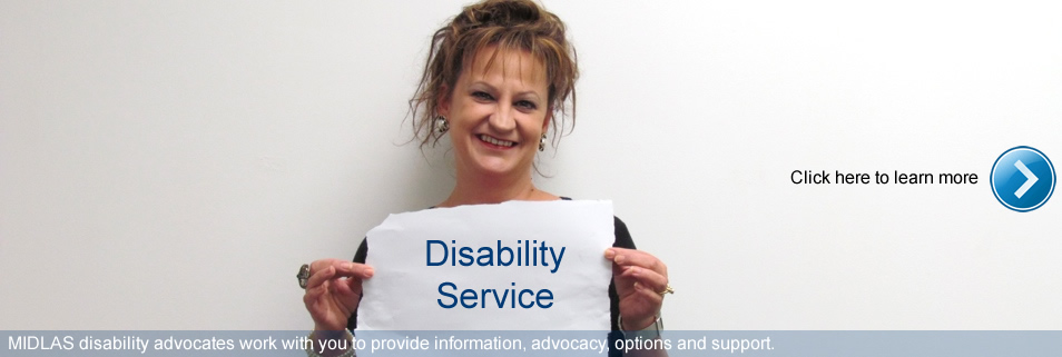 Click here to learn more about our Disability Service