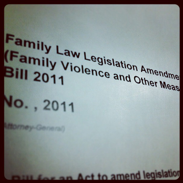 Amendments to the Family Law Act 1975 (Cth)