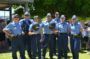 Members of the Midland Police Station