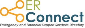 ER Connect Emergency and Financial Support Services Directory Website