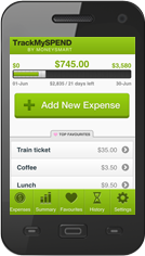 Track My Spend Mobile App